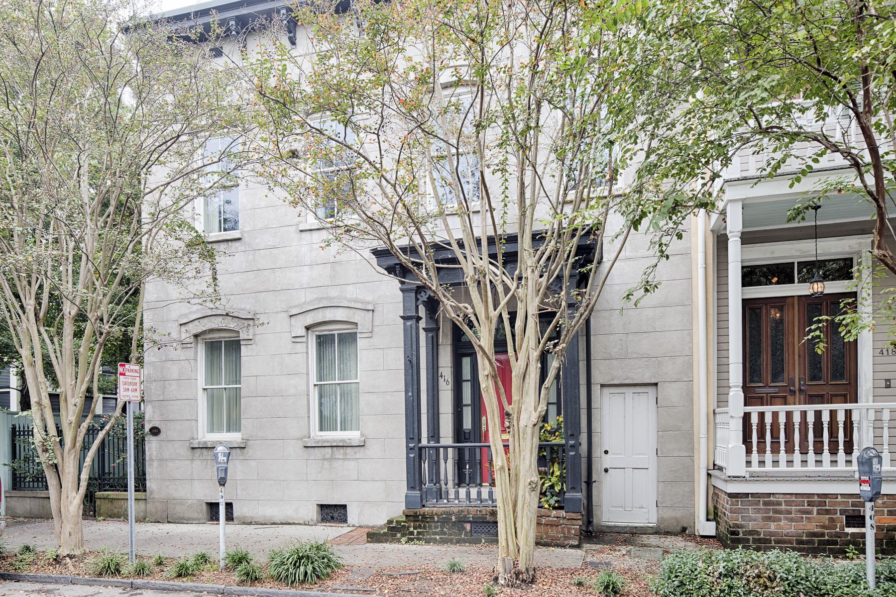 一戸建て のために 売買 アット 416 E Bryan Street Savannah, ジョージア 31401 アメリカ合衆国
