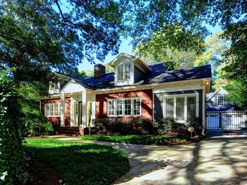 Single Family Home for Sale at Meticulously Renovated Bungalow 1466 University Drive Atlanta, Georgia 30306 United States