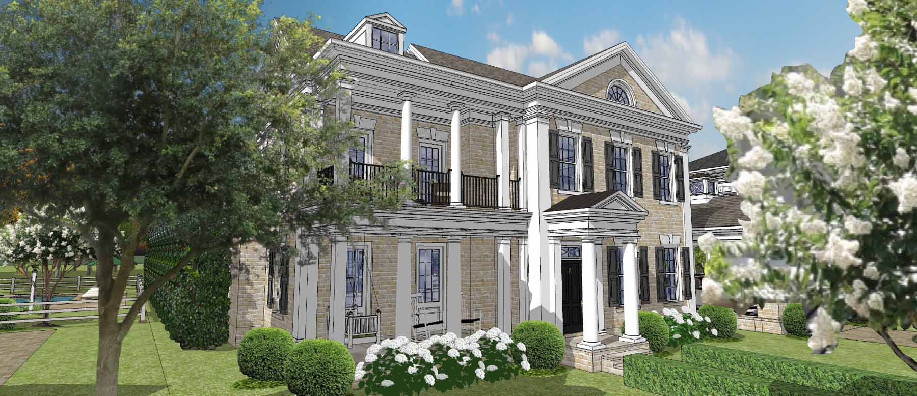 一戸建て のために 売買 アット Premier Custom Built Gated Neighborhood in Downtown Alpharetta 2120 Canton View Alpharetta, ジョージア, 30009 アメリカ合衆国