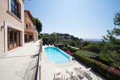 Single Family Home for Sale at Exclusive Villa in Son Vida with views of the bay Palma Center, Mallorca, 07001 Spain