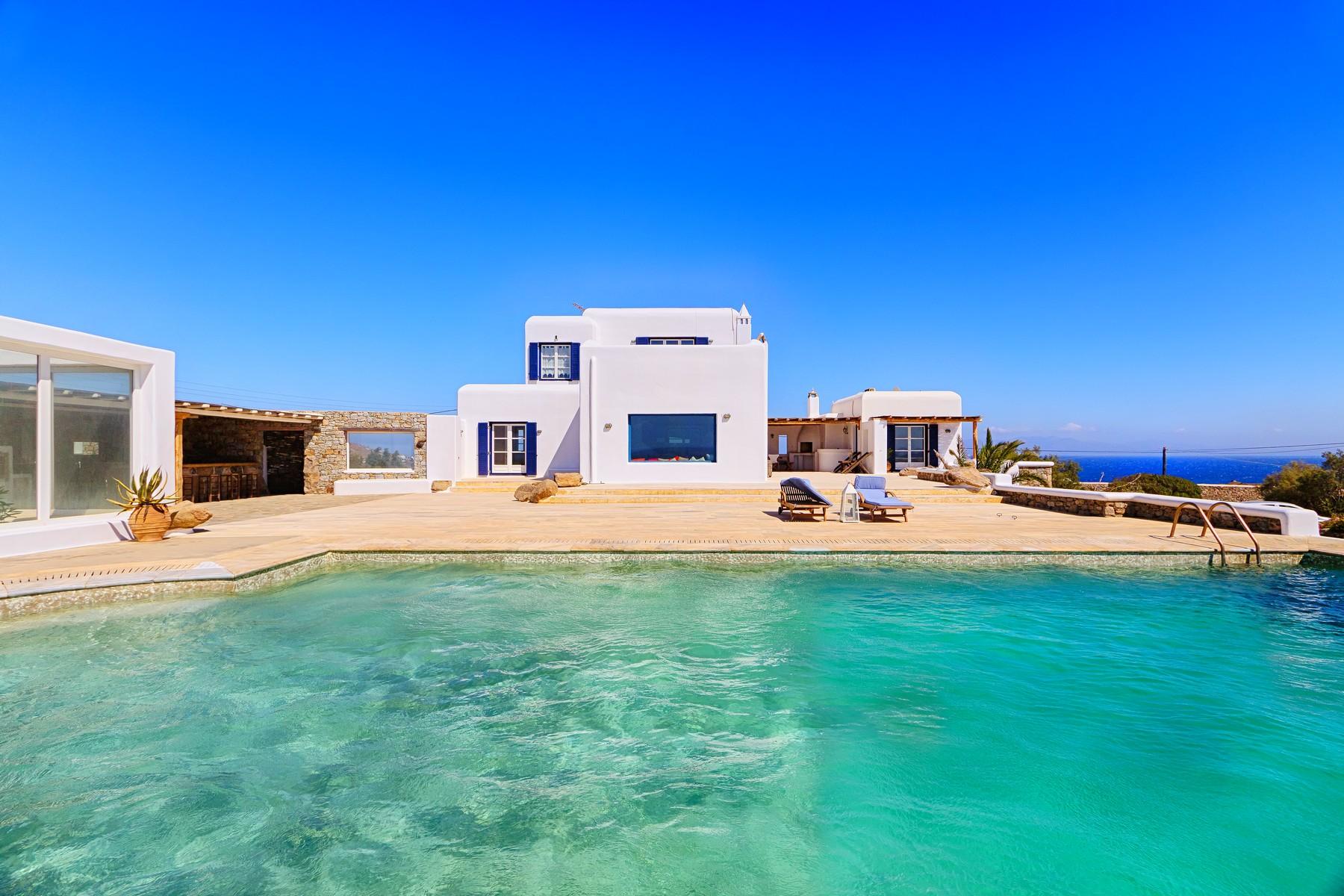 Частный односемейный дом для того Аренда на Sea Front Villa Aleomandra, Mykonos, Cycldes, Aegean Mykonos, Южная Часть Эгейского Моря 84600 Греция
