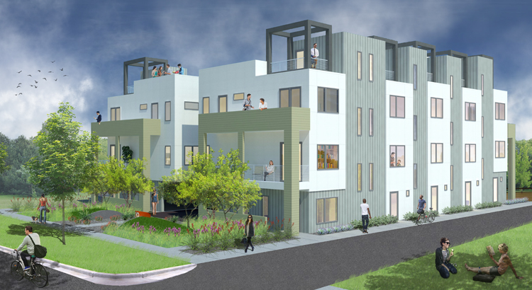 Single Family Home for Sale at ROW 10 - New Construction 3129 West 18th Avenue Denver, Colorado 80204 United States