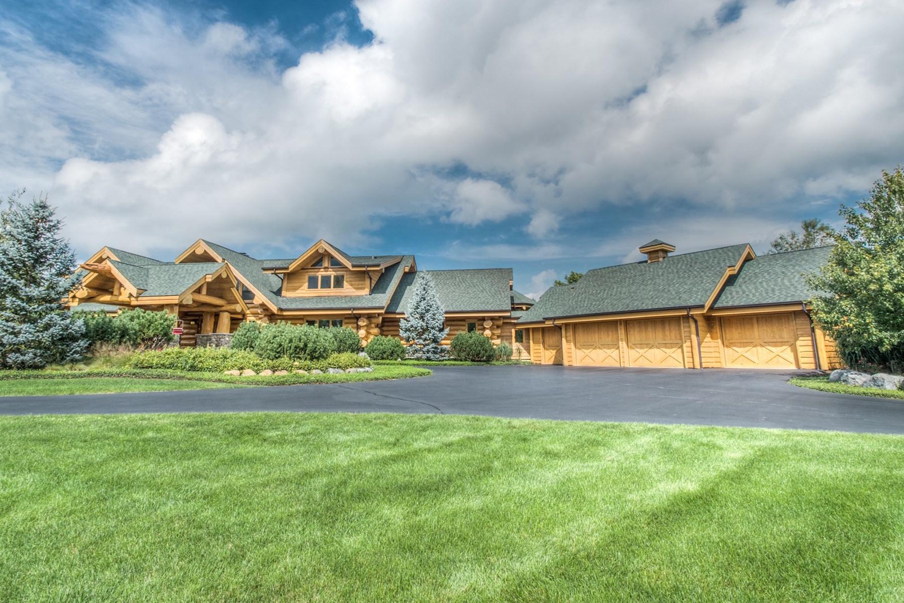 Maison unifamiliale pour l Vente à 409 High Meadow Drive Bull Valley, Illinois 60098 États-Unis