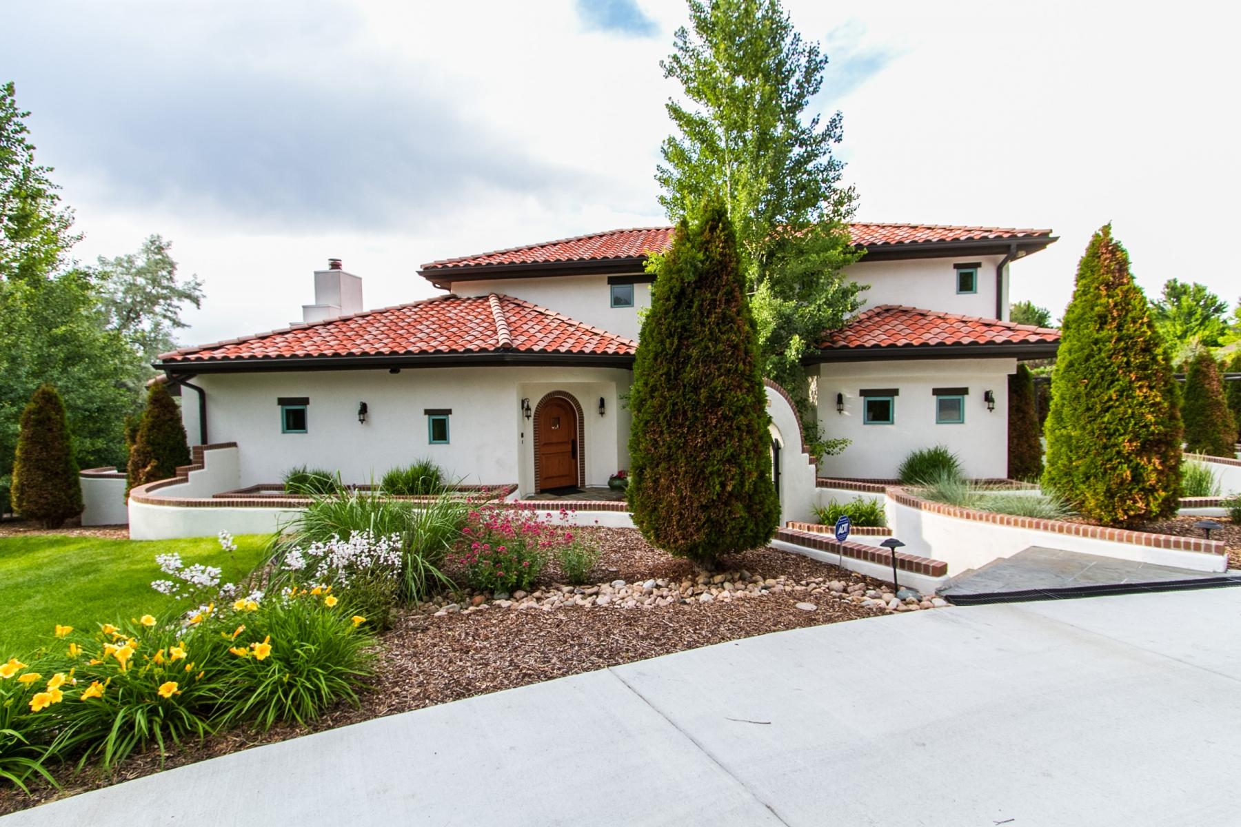 Einfamilienhaus für Verkauf beim Custom - Spanish Mediterranean Style! 6301 East Crestline Avenue Greenwood Village, Colorado 80111 Vereinigte Staaten
