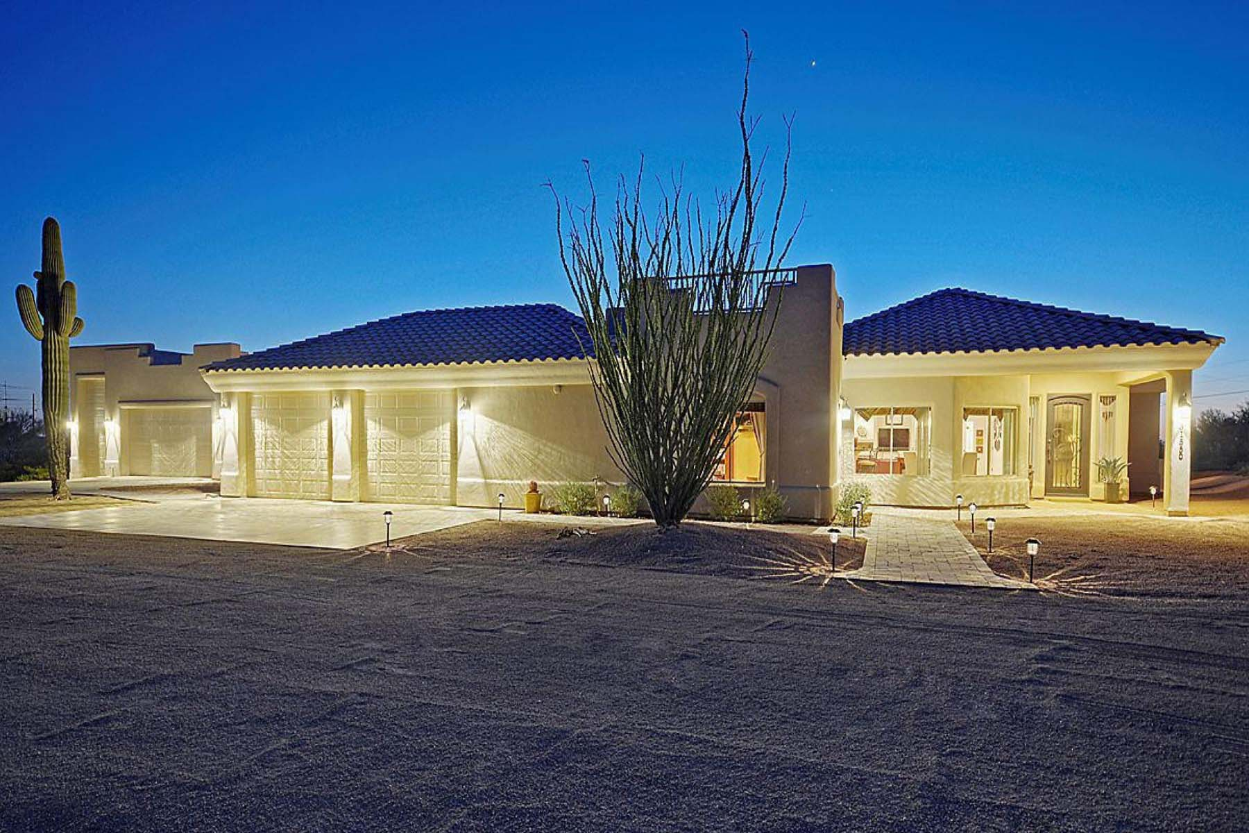 Single Family Home for Sale at Beautiful custom home on 2.5 acres. 31550 N 70TH ST Scottsdale, Arizona 85266 United States