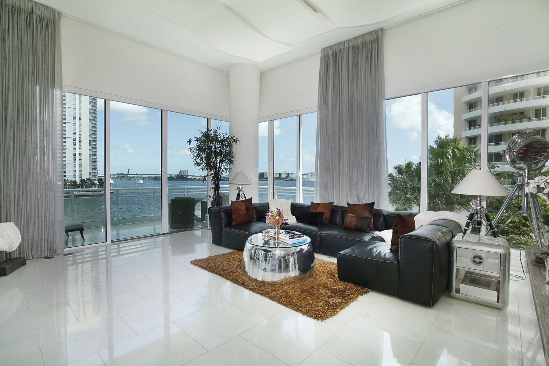 コンドミニアム のために 売買 アット 900 Brickell Key BL #403/503 Miami, フロリダ 33131 アメリカ合衆国