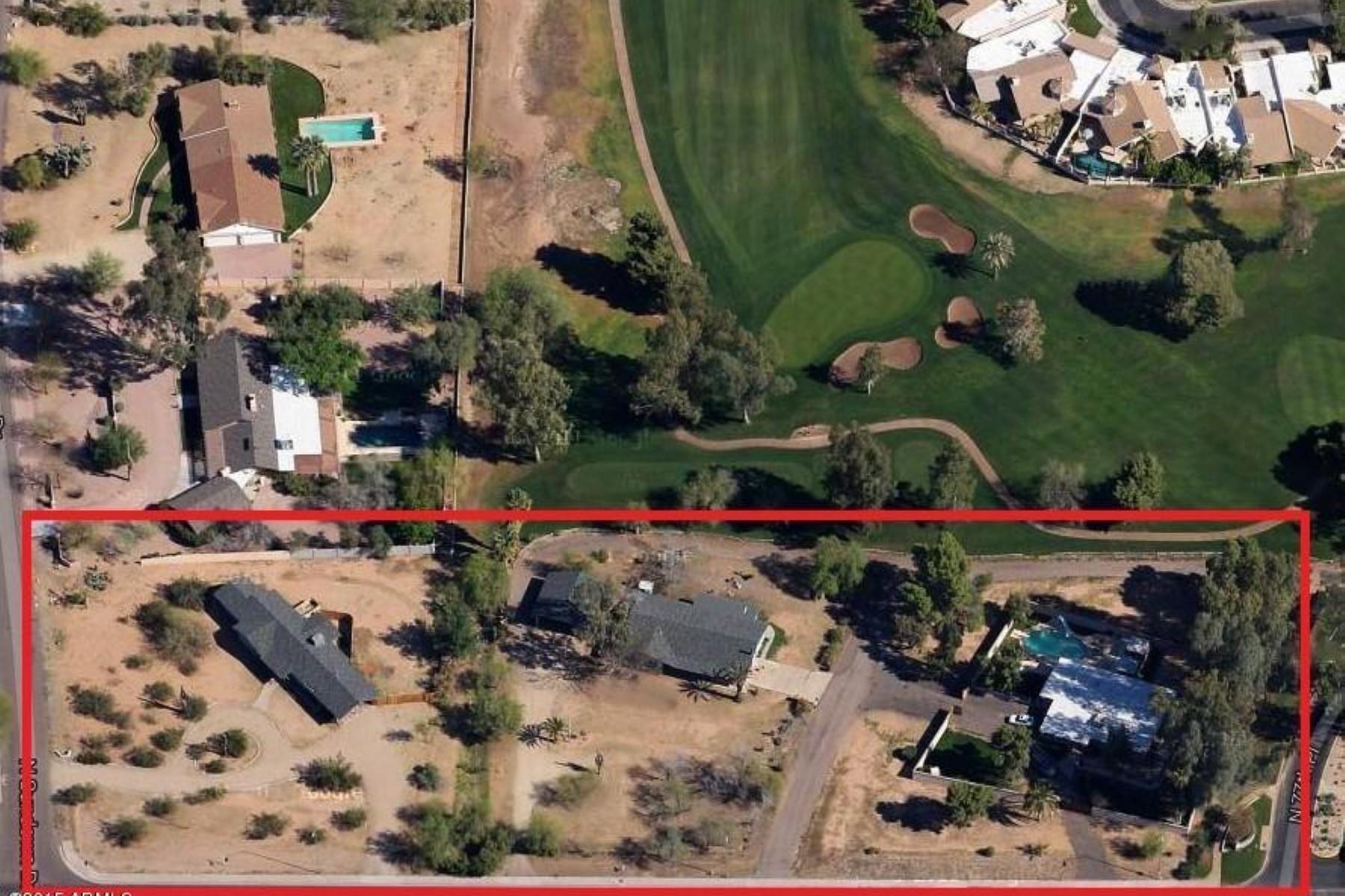 Terreno por un Venta en Golf Course Lot on Shea Blvd. 7632 E Shea BLVD 73,74,75 Scottsdale, Arizona 85260 Estados Unidos