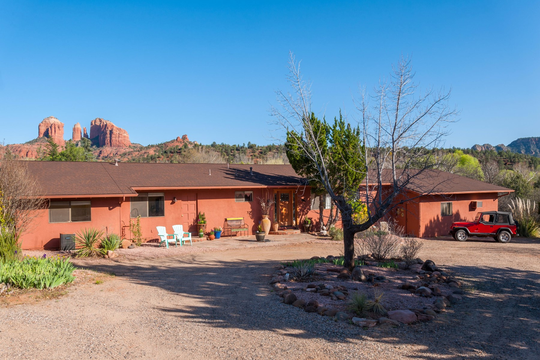 sales property at Peaceful greenbelt location Red Rocks of Sedona