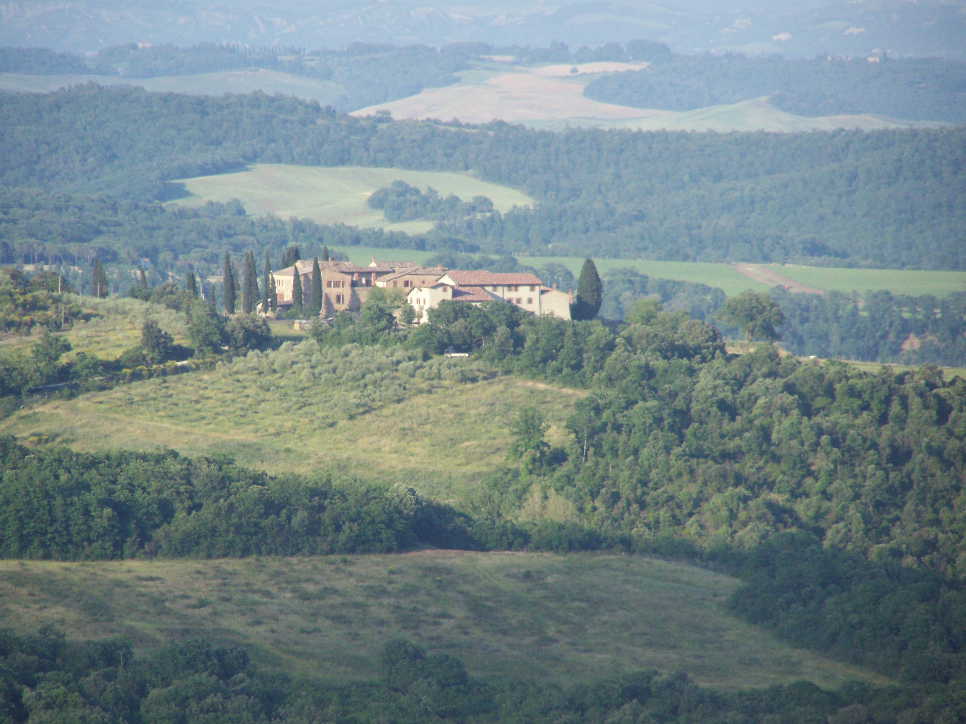 Farm / Ranch / Plantation for Sale at Grand estate with far, stables, vineyard, olive groove and hunting facilities Monticiano Other Siena, Siena, 53015 Tuscany, Italy