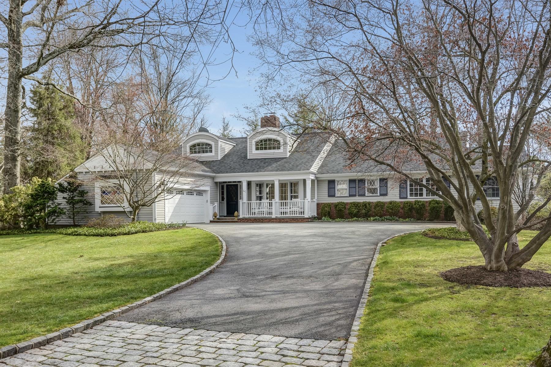 Maison unifamiliale pour l Vente à Stunning Custom Home 41 Winding Way Madison, New Jersey, 07940 États-Unis