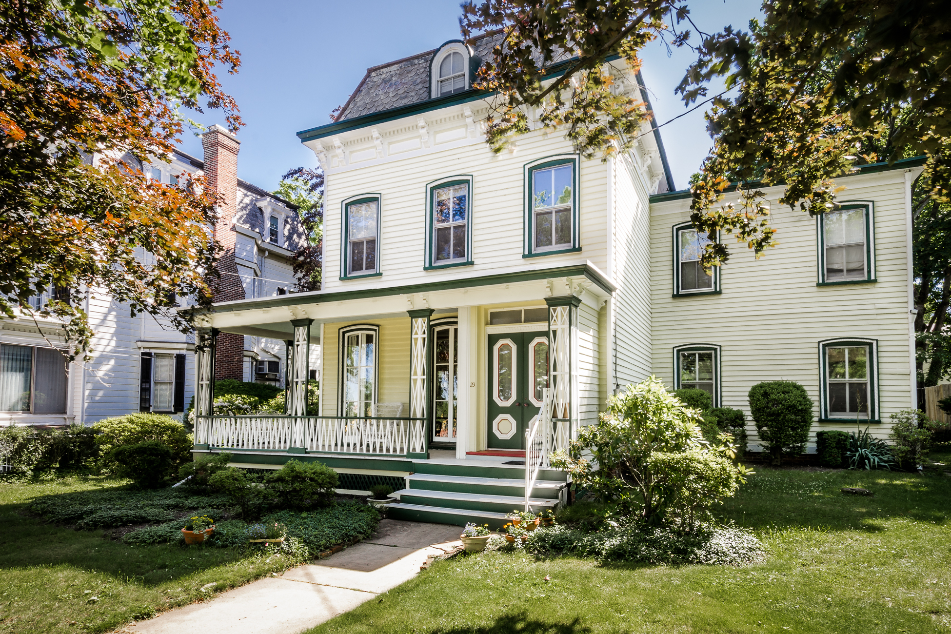 Single Family Home for Sale at Capturing All The Grace Of Yesteryear 23 South Adelaide Avenue Highland Park, New Jersey 08904 United States