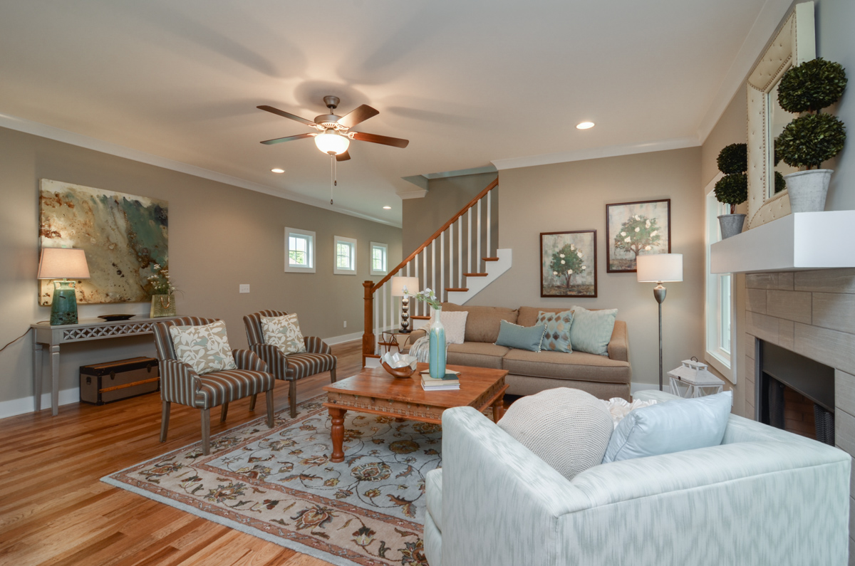 Single Family Home for Sale at Thoughtfully Designed East Nashville New Construction 2222 Carter Avenue Nashville, Tennessee 37206 United States