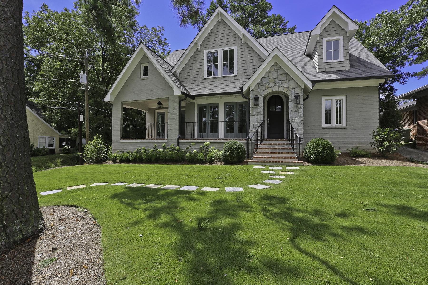 獨棟家庭住宅 為 出售 在 Total Renovation Expansion 733 Sherwood Road NE Morningside, Atlanta, 喬治亞州, 30326 美國