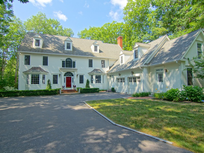 Property For Sale at Custom Colonial with Dramatic Flair