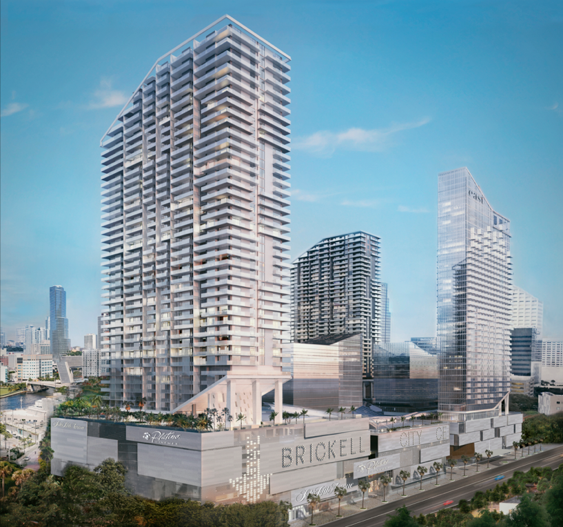 Property For Sale at 88 SW 7 ST#1808