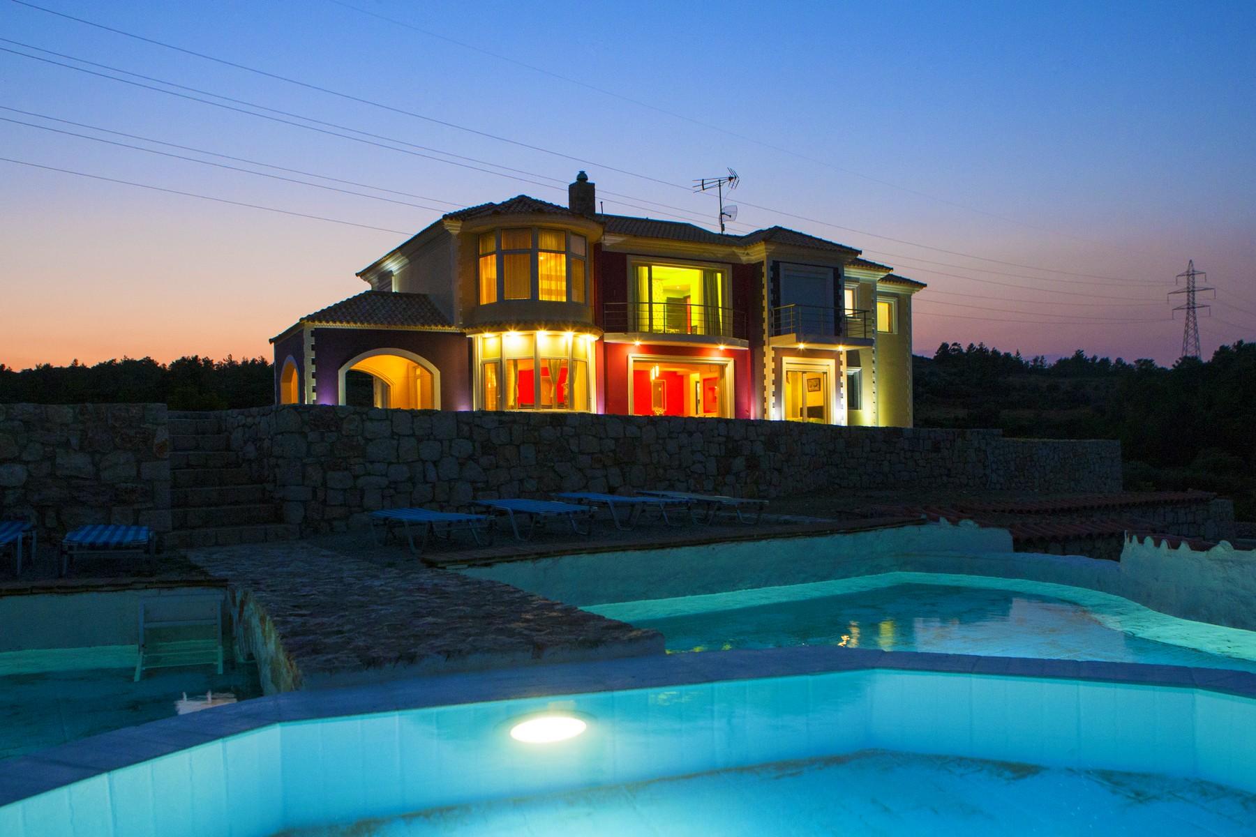 Частный односемейный дом для того Продажа на Hillside Masterpiece Afandou, Rhodes, Dodecanese, Aegean Rhodes, Южная Часть Эгейского Моря 85100 Греция