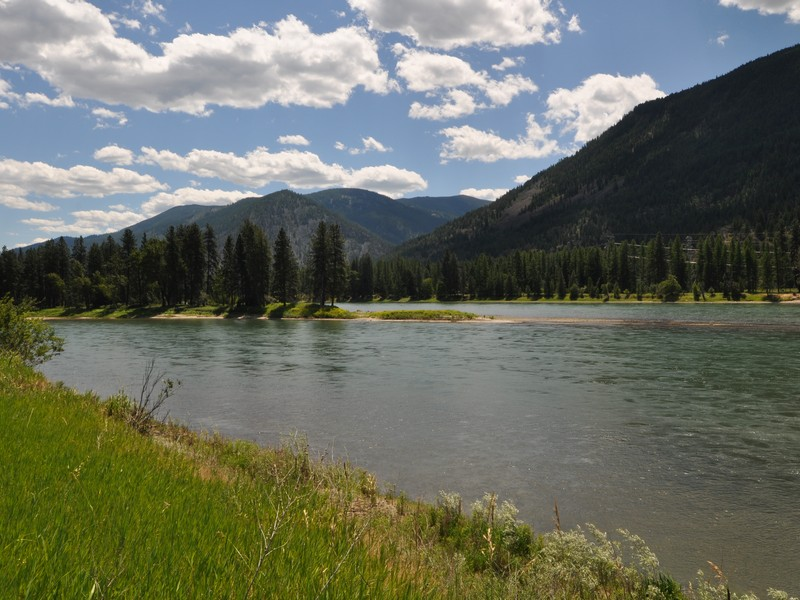 Property Of Clark Fork River Frontage