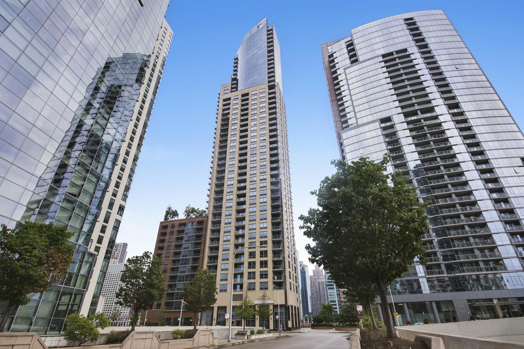 Condominium for Sale at The Regatta at Lake Shore East! 420 E Waterside Drive Unit 705 Chicago, Illinois, 60601 United States