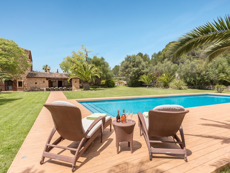 Single Family Home for Sale at Historic country house in Santa Maria Santa Maria, Mallorca, 07320 Spain