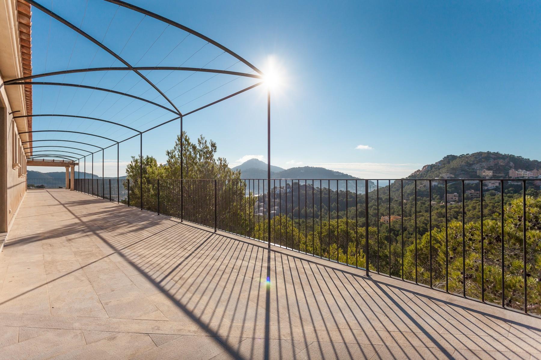 一戸建て のために 売買 アット Villa with panoramic views of Port Andratx Port Andratx, マヨルカ, 07157 スペイン