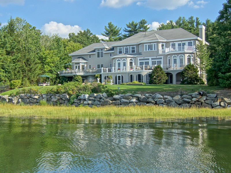 Single Family Home for Sale at Mediterranean Masterpiece on Great Bay 28 Bayridge Road Greenland, New Hampshire 03840 United States