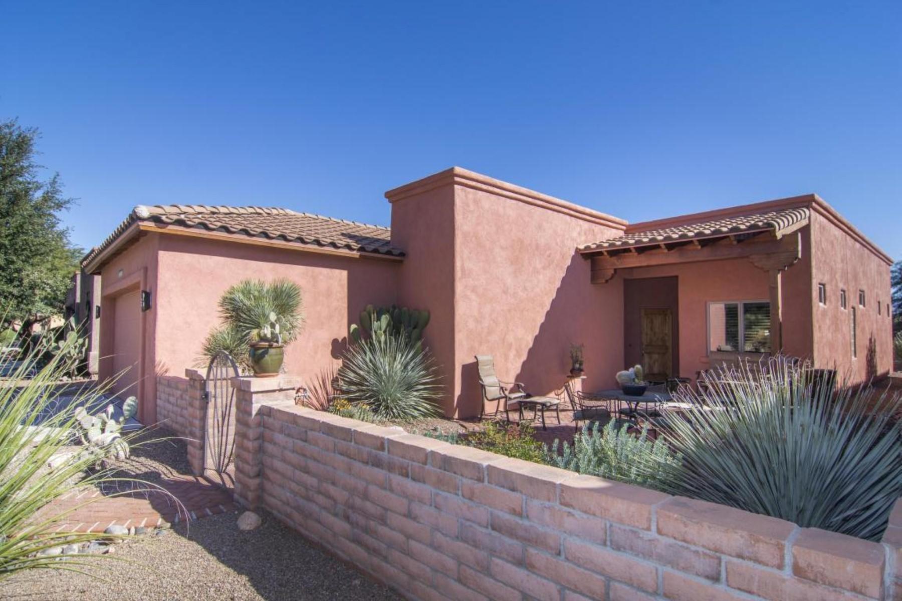 独户住宅 为 销售 在 Lovely home in the sought-after San Miguel subdivision 2219 Paseo Tumacacori 图巴克, 亚利桑那州, 85646 美国