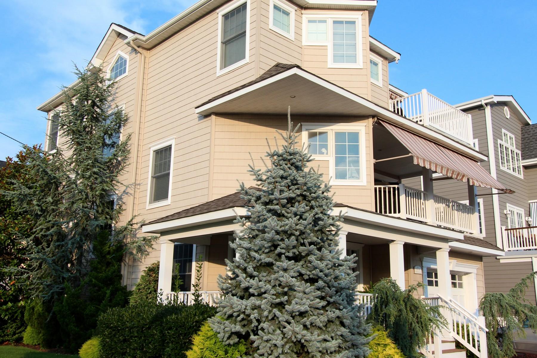 Maison unifamiliale pour l Vente à 101 S Princeton Ave 101 S Princeton Ave BEACHBLOCK Ventnor, New Jersey 08406 États-Unis