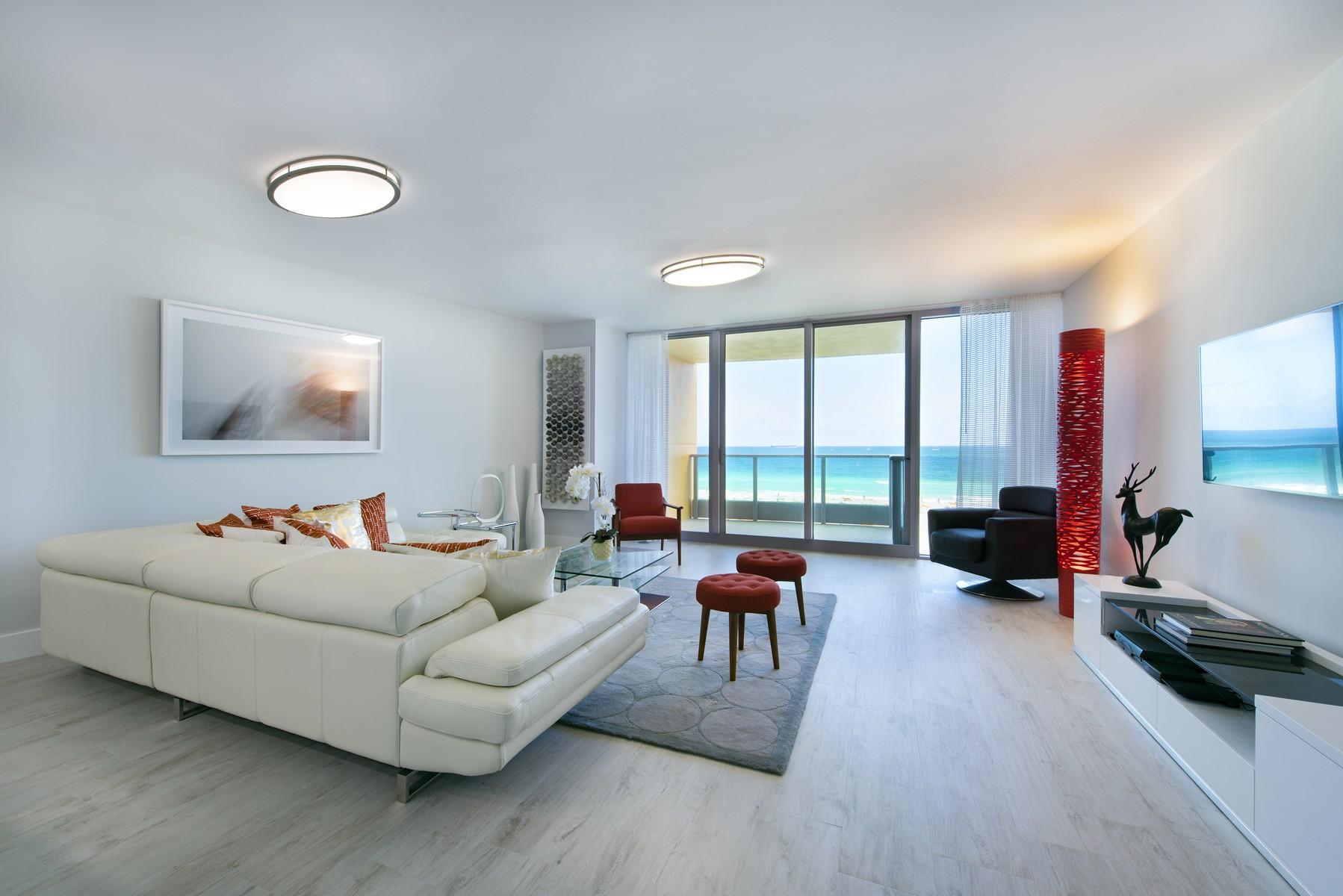 Кооперативная квартира для того Продажа на 1455 OCEAN DR #606 Miami Beach, Флорида 33139 Соединенные Штаты