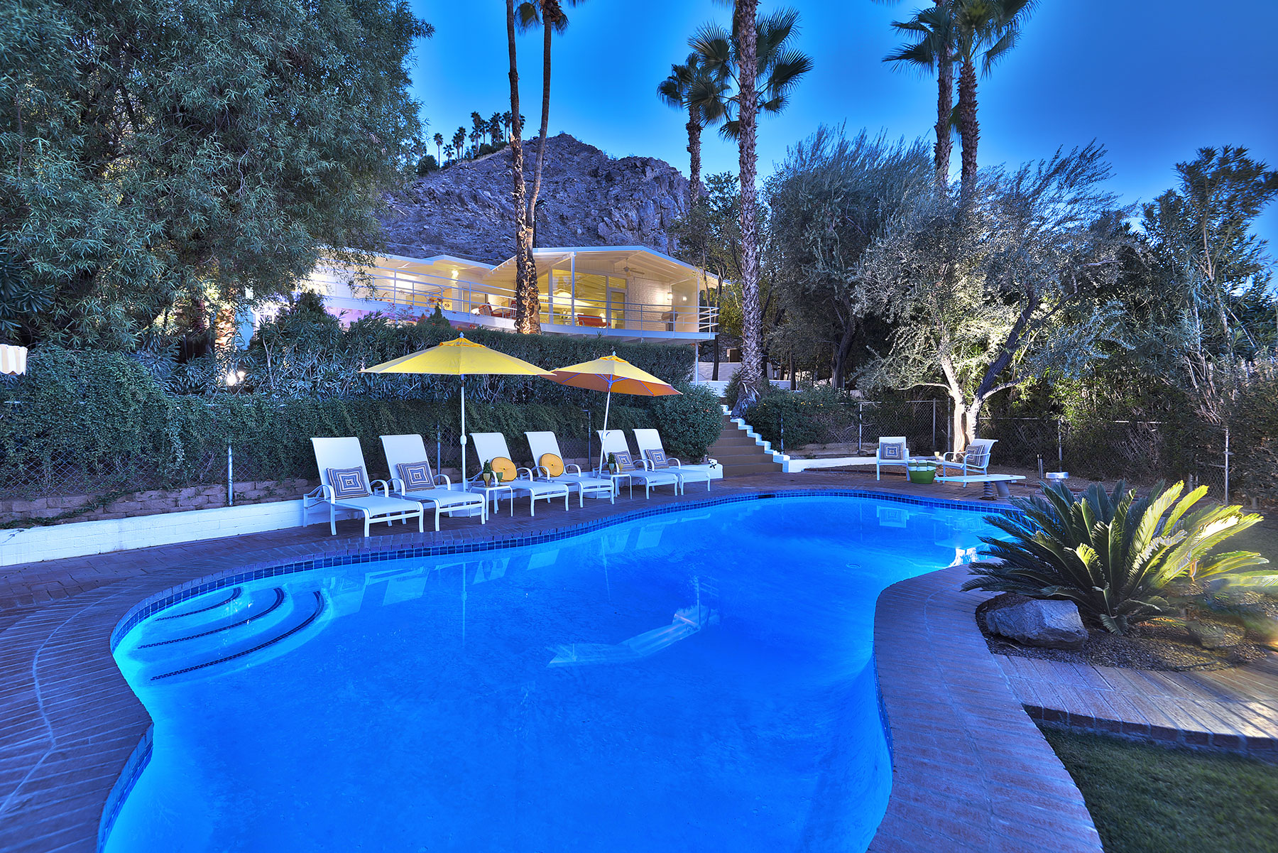 Single Family Home for Sale at Howard Hughes Estate 2195 Rim Road Palm Springs, California 92264 United States