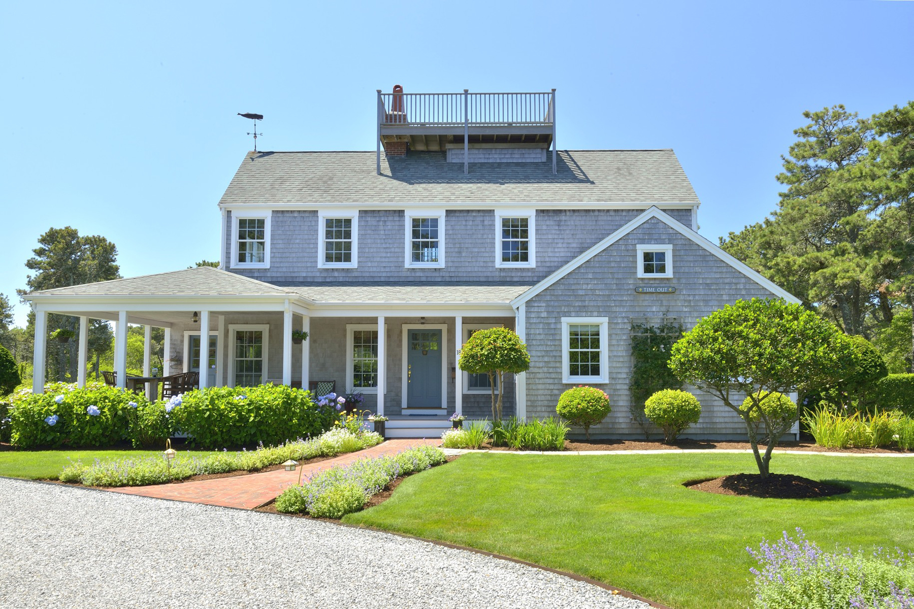 Casa Unifamiliar por un Venta en Cisco Serenity 18 Deer Run Road Nantucket, Massachusetts 02554 Estados Unidos