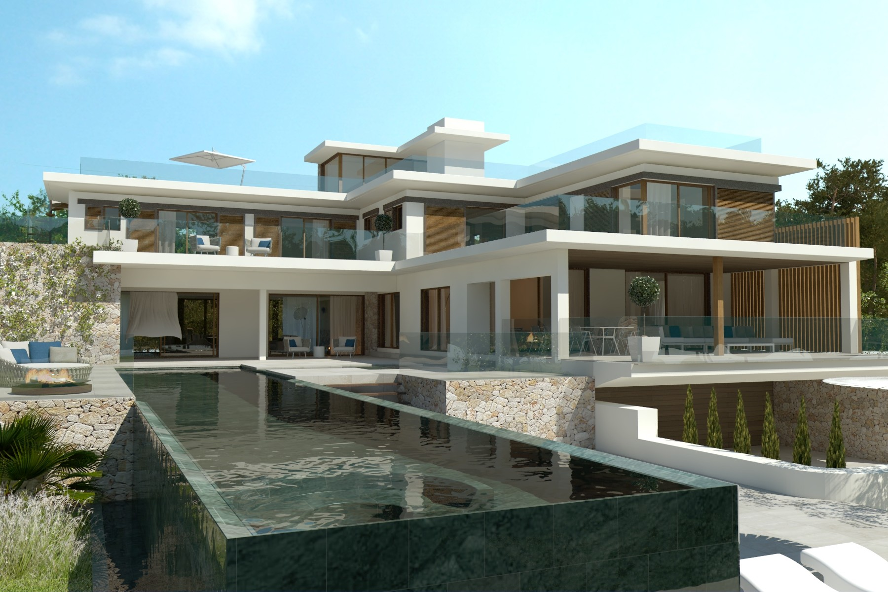 Single Family Home for Sale at Exclusive Villa in prime location of Port Andratx Port Andratx, Mallorca, 07157 Spain