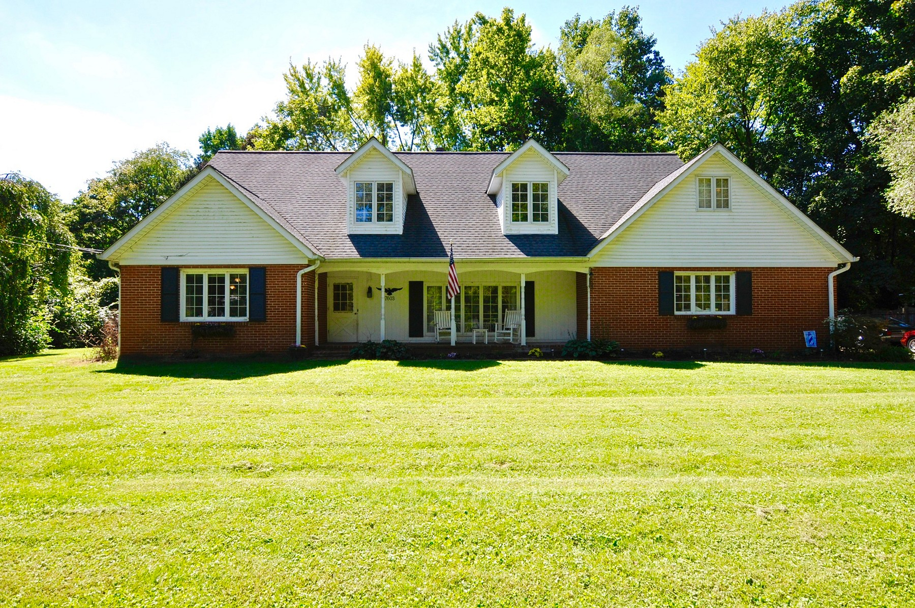 Single Family Home for Sale at Privacy Abounds 7603 Westfield Road Indianapolis, Indiana, 46240 United States