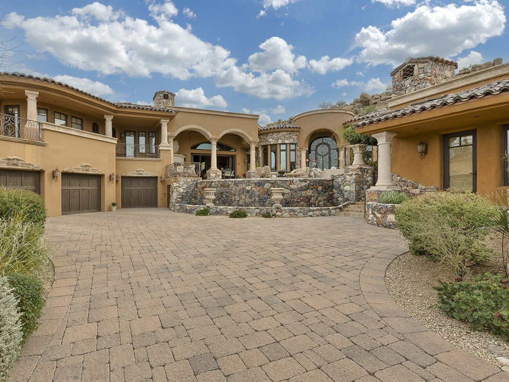 Single Family Home for Sale at Tuscan Inspired Jewel 27951 N 103rd Pl Scottsdale, Arizona 85262 United States