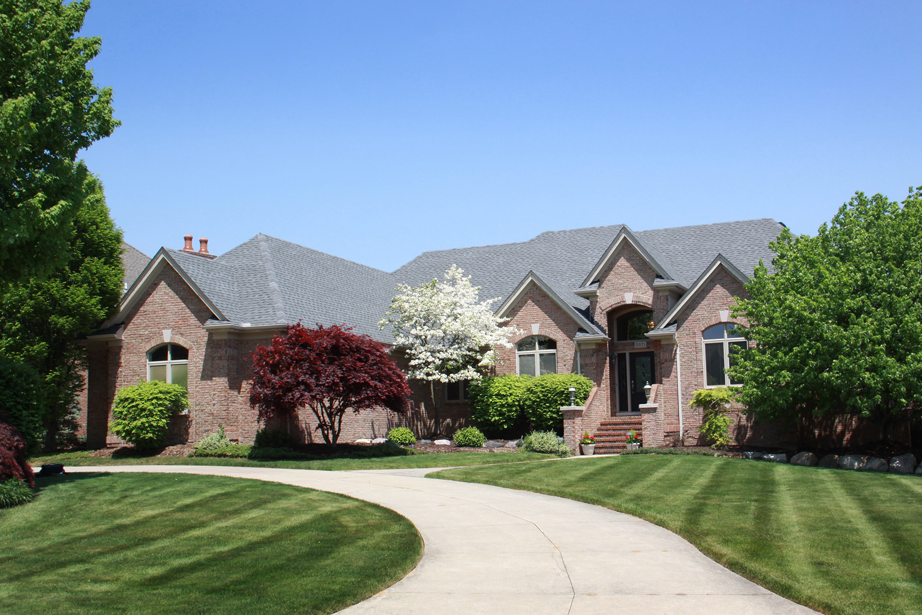 Villa per Vendita alle ore Washington Township 5571 Brookside Lane Washington Township, Michigan, 48094 Stati Uniti