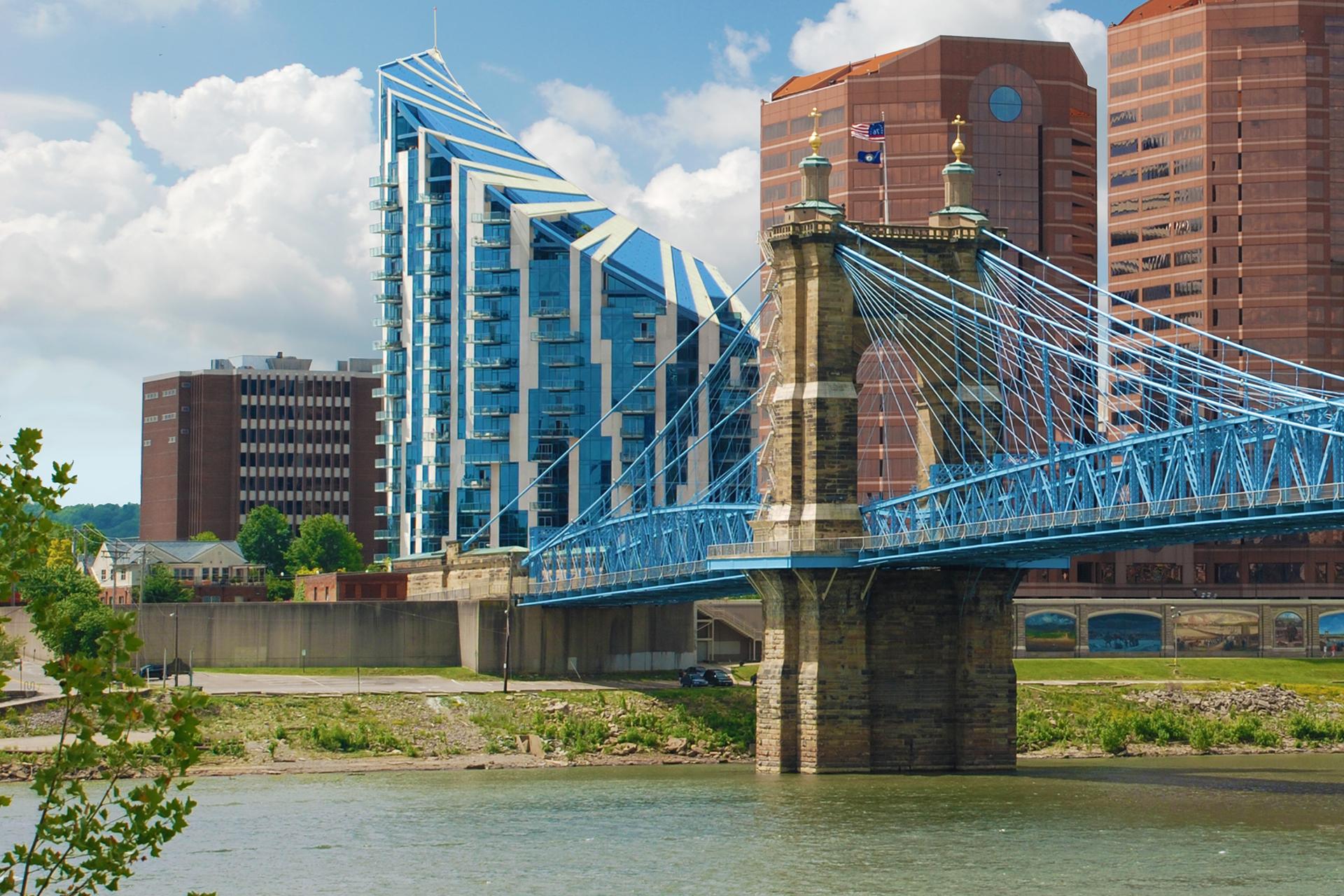コンドミニアム のために 売買 アット Fantastic Panorama Views 1 Roebling Way #1006 Covington, ケンタッキー, 41011 アメリカ合衆国