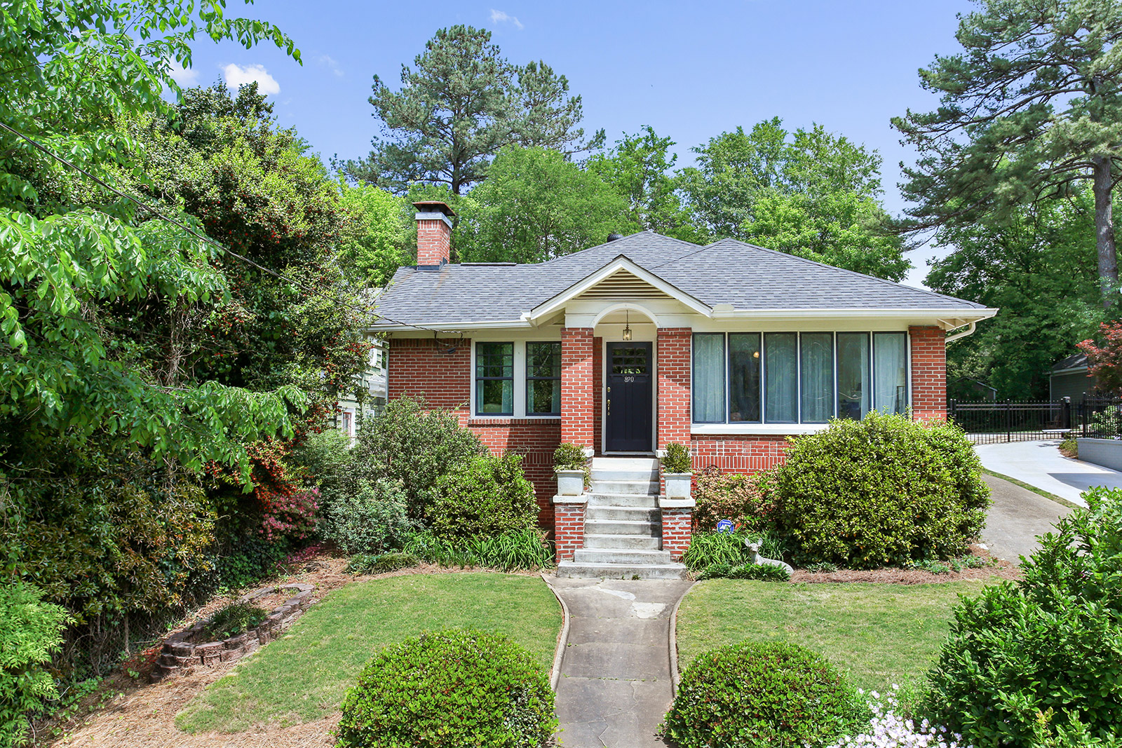 Single Family Home for Sale at Virginia Highland Charm in the Heart of the Neighborhood 890 Drewry Street NE Atlanta, Georgia, 30306 United States