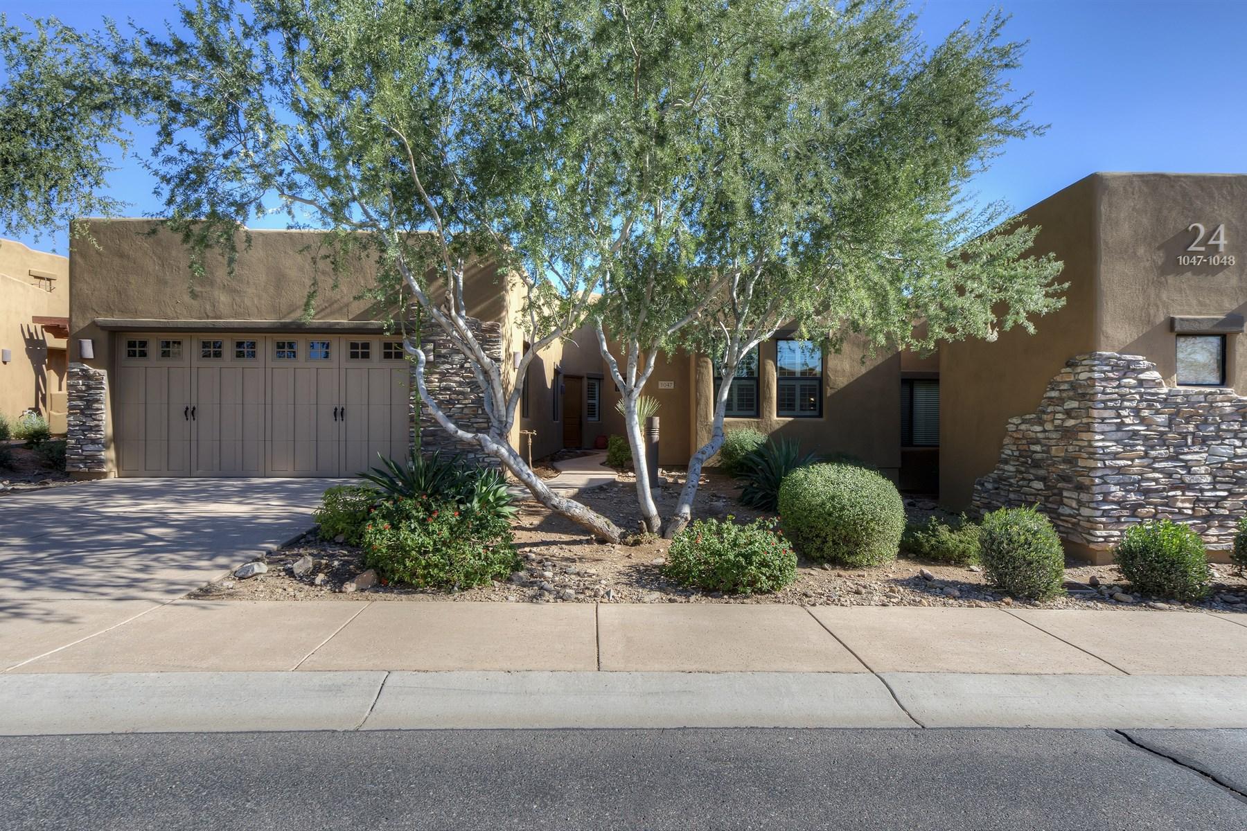 타운하우스 용 매매 에 Elegant one level patio home 13300 E Via Linda #1047 Scottsdale, 아리조나 85259 미국