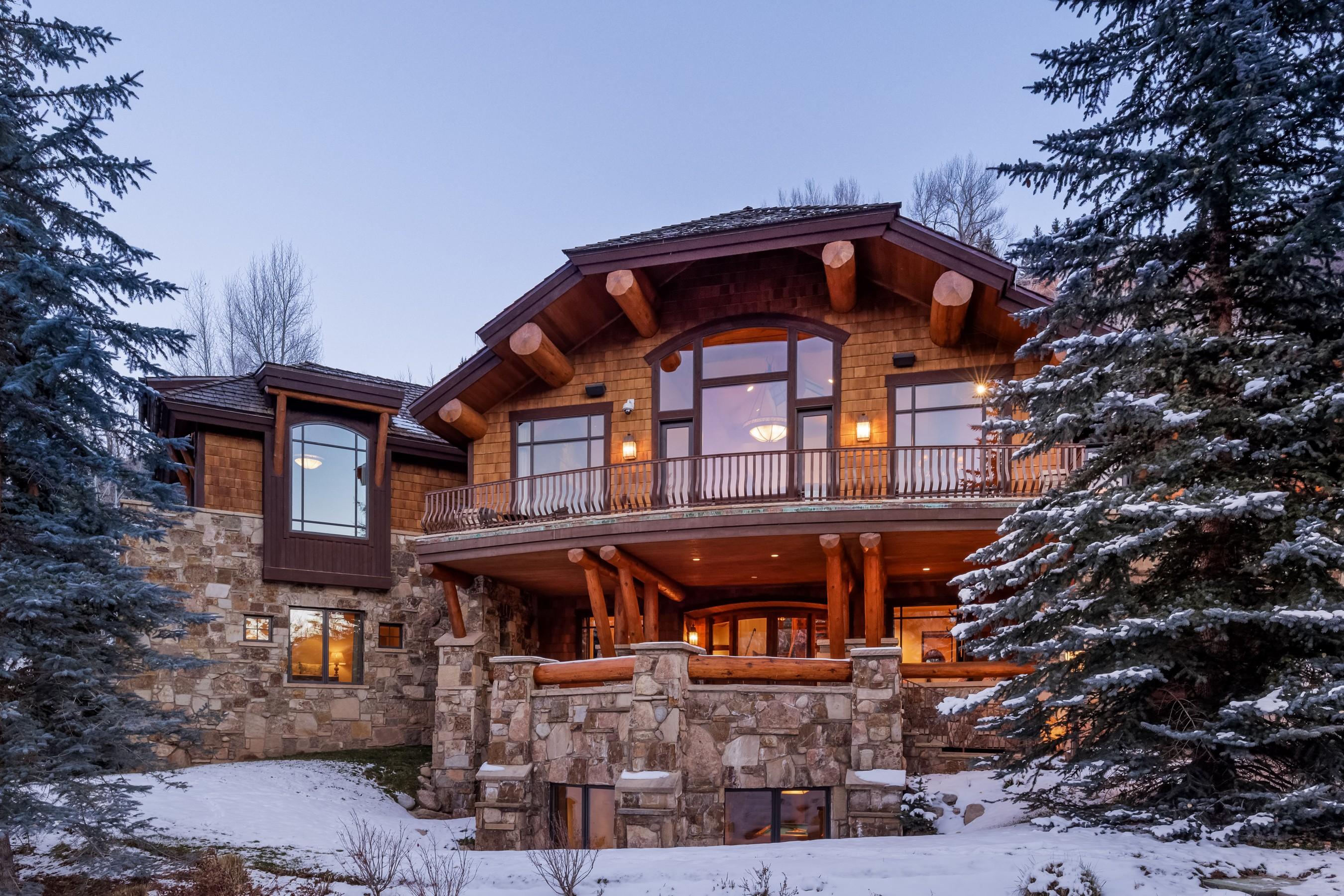 独户住宅 为 销售 在 Prestigious Willoughby Way 247 Willoughby Way 阿斯彭, 科罗拉多州, 81611 美国