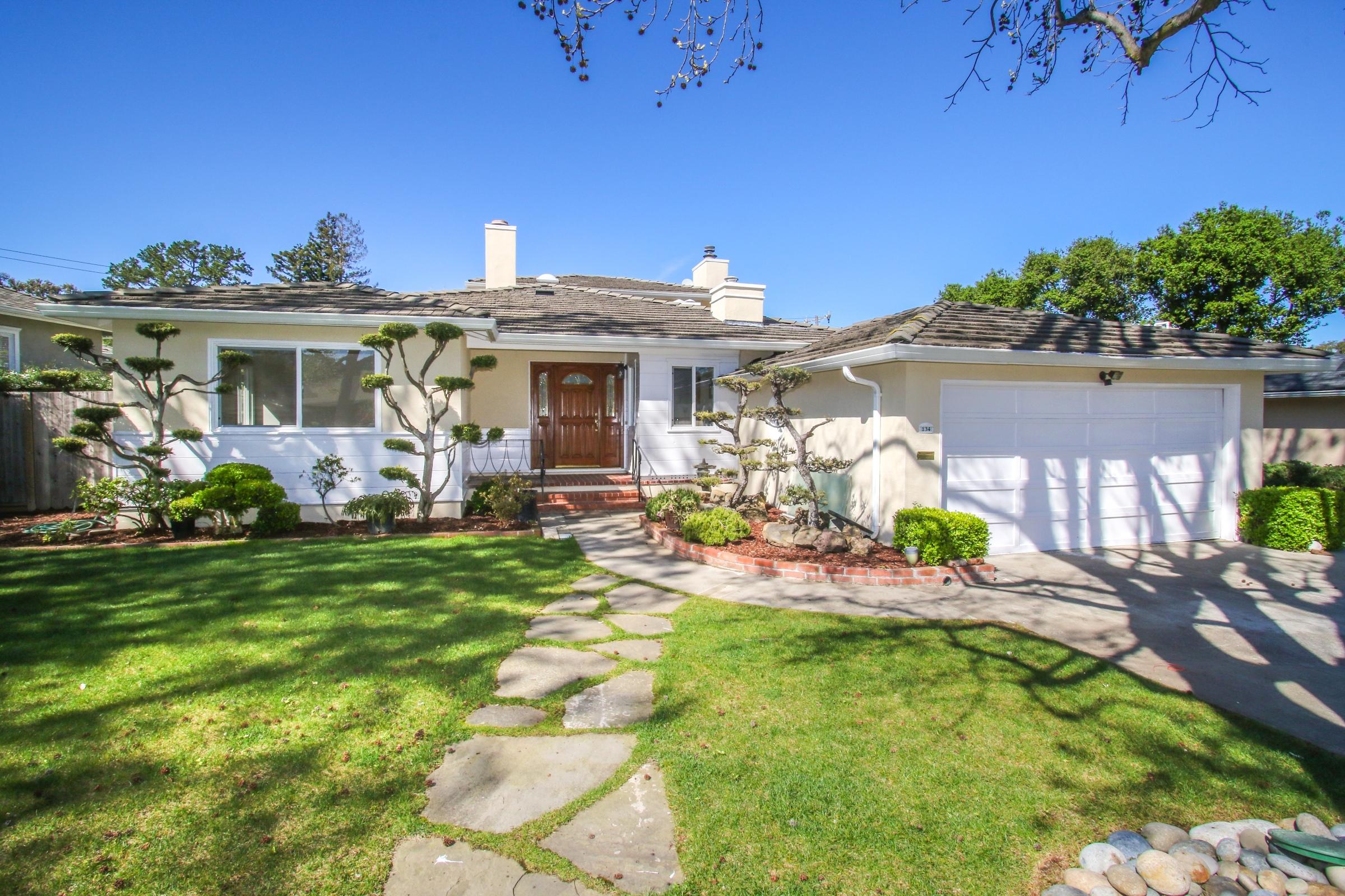 sales property at 134 Louise, San Mateo