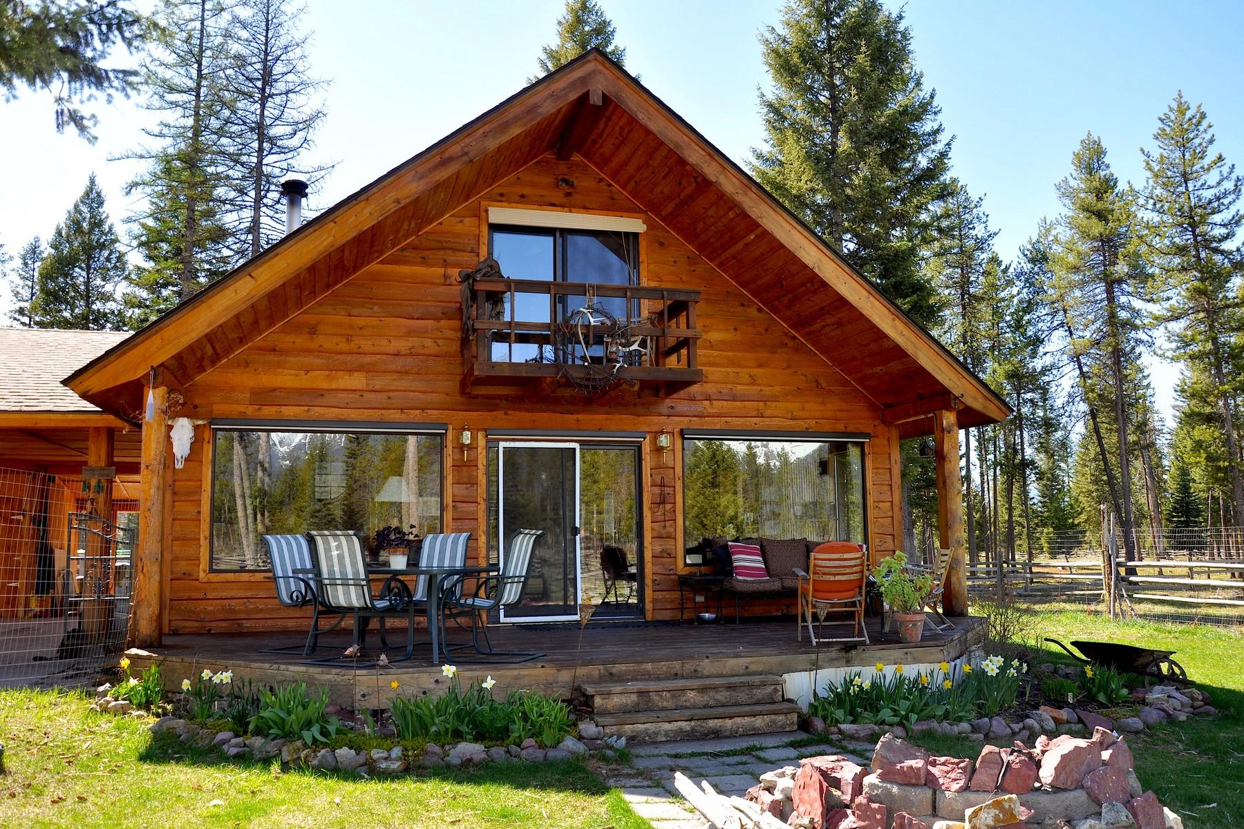 Vivienda unifamiliar por un Venta en Heart of the Swan Valley 1150 Guest Ranch Rd Condon, Montana 59826 Estados Unidos