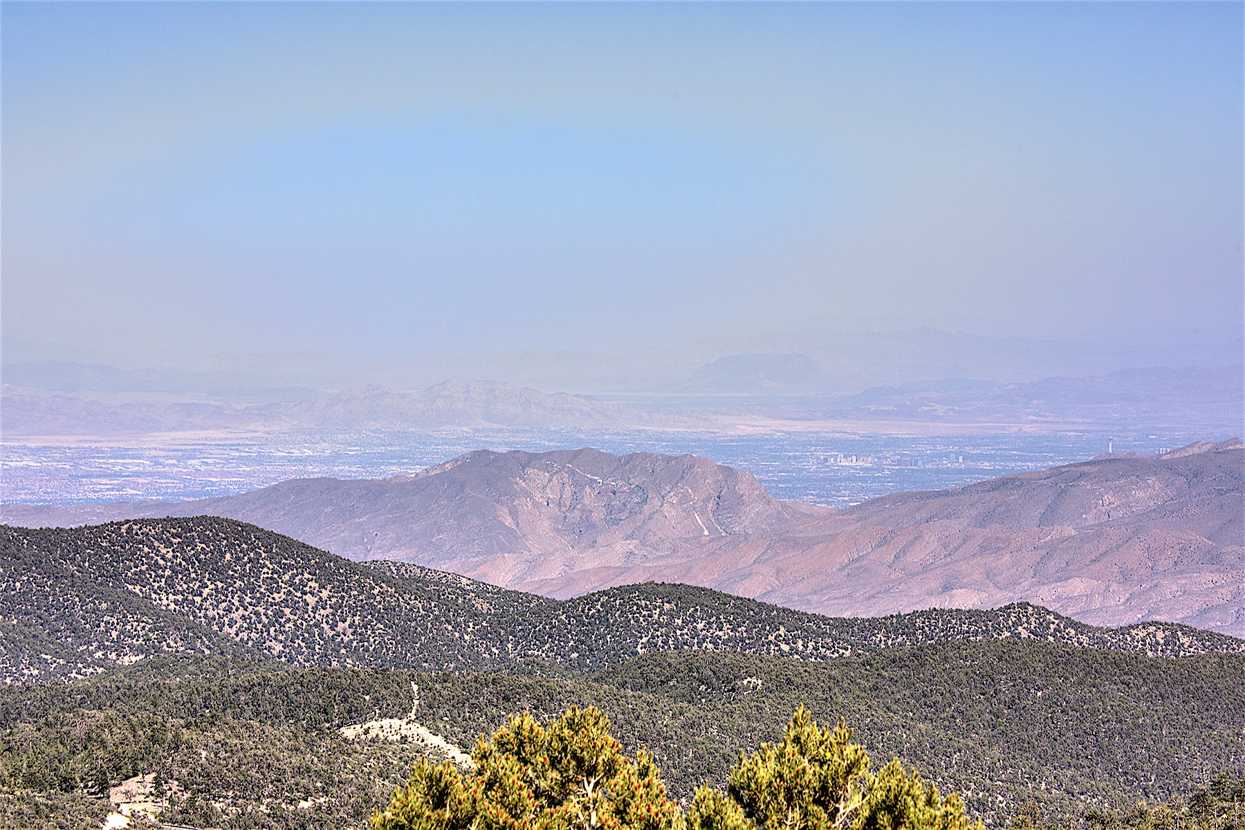 sales property at 4.66 Acre Lot in Mt. Charleston with Million Dollar Views