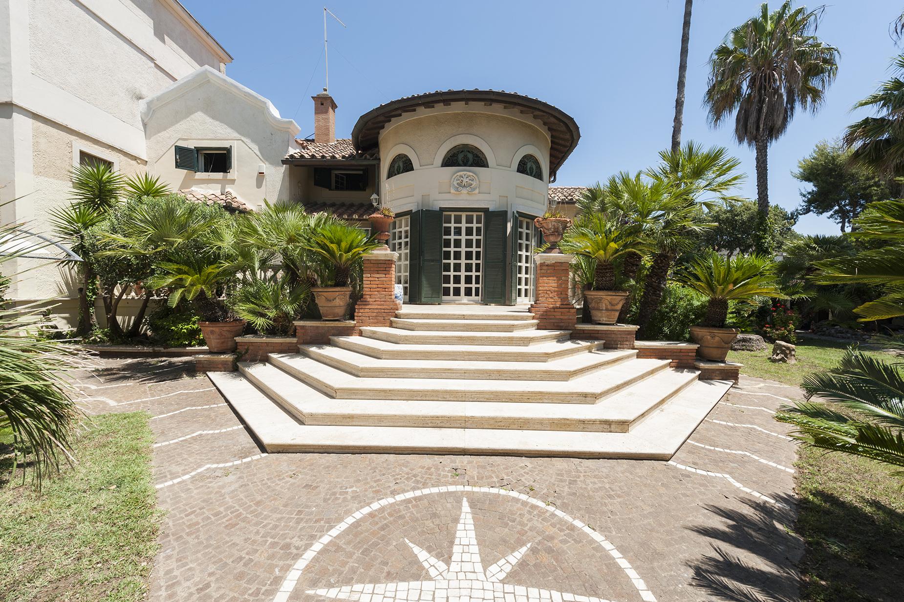 Single Family Home for Sale at Art nouveau villa in Fregene Fregene, Rome Italy