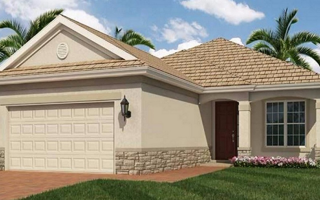 Casa Unifamiliar por un Venta en Room for a Pool! 10071 Roehampton Court SW Port St. Lucie, Florida, 34987 Estados Unidos