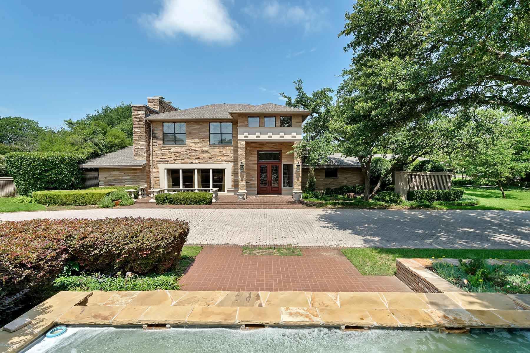 独户住宅 为 销售 在 Traditional, Westcliff 3809 Encanto Dr 沃斯堡市, 得克萨斯州, 76109 美国