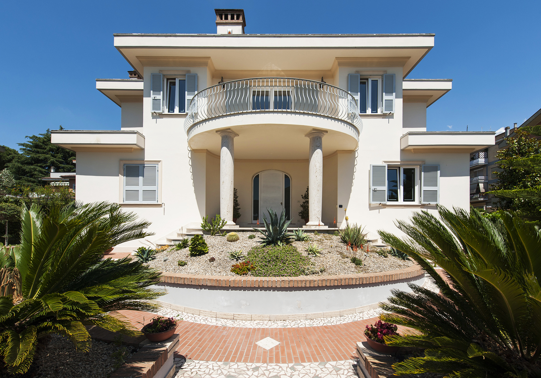 Single Family Home for Sale at Villa in Liberty style recently built Rome, Rome Italy