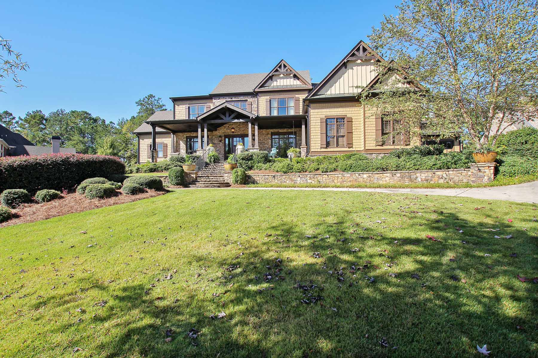 Maison unifamiliale pour l Vente à Luxurious Custom Golf Home 4391 Oglethorpe Loop NW Acworth, Georgia 30101 États-Unis