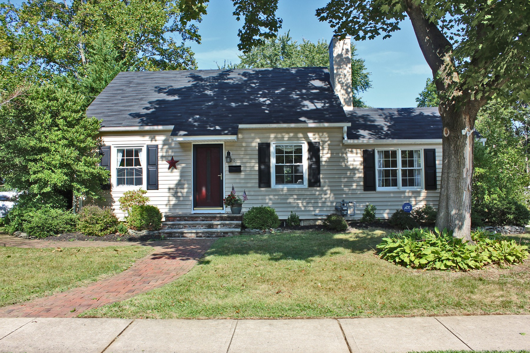 Single Family Home for Sale at Charming Cape in Lovely Neighborhood 20 Weldon Road Matawan, New Jersey 07747 United States