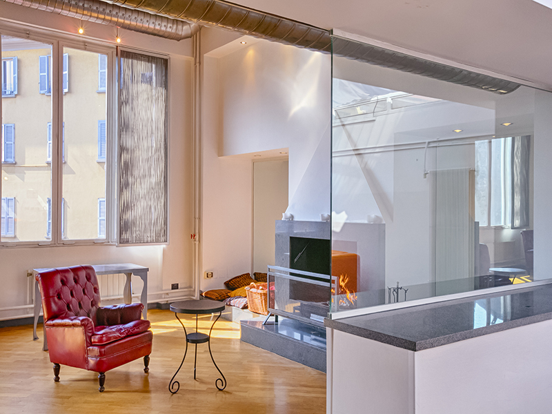 Additional photo for property listing at Impressive multi-level loft in Loreto Via Plinio Milano, Milan 20129 Italie