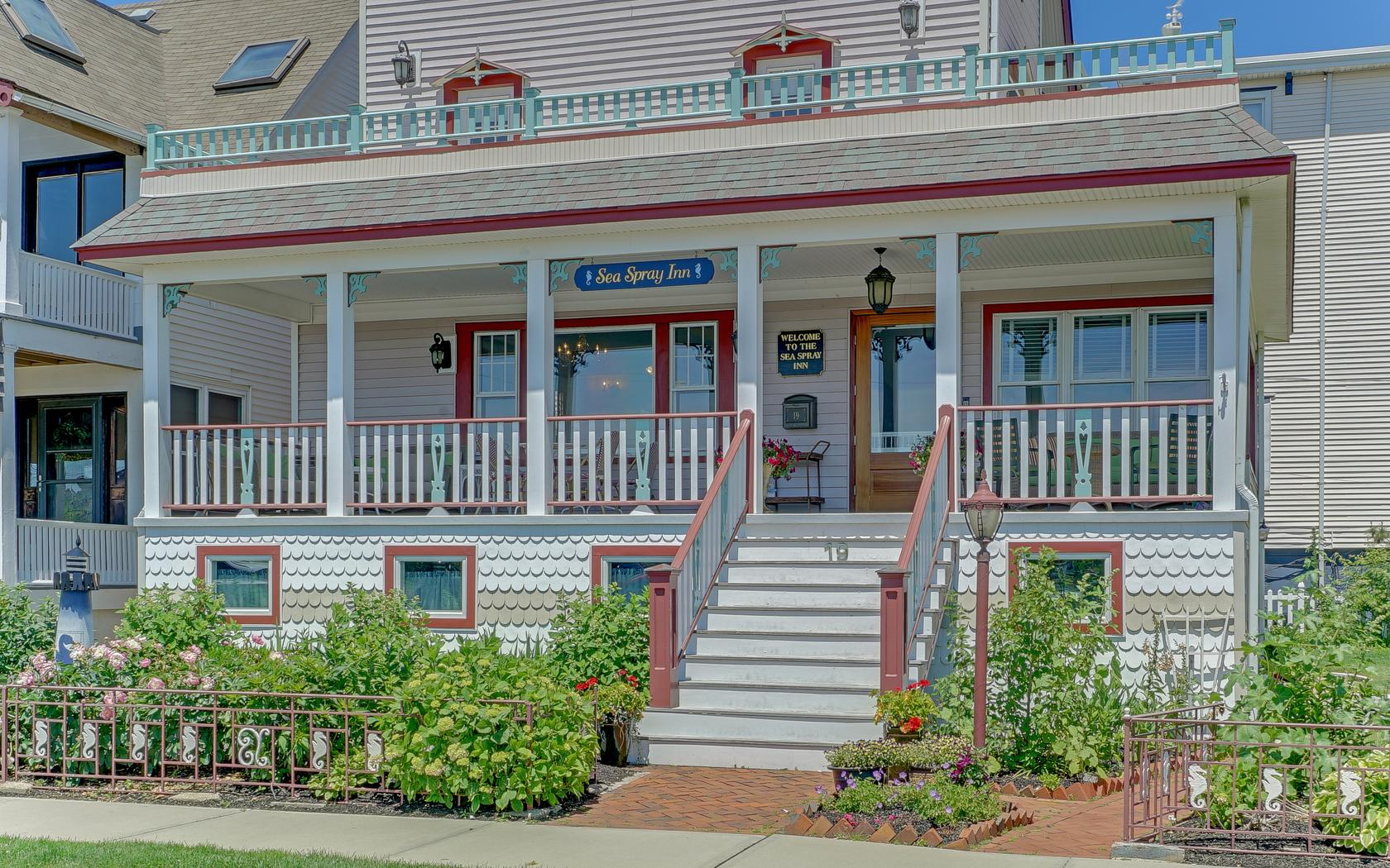 Single Family Home for Sale at The Sea Spray of Ocean Grove! 19 Broadway Neptune, New Jersey 07756 United States