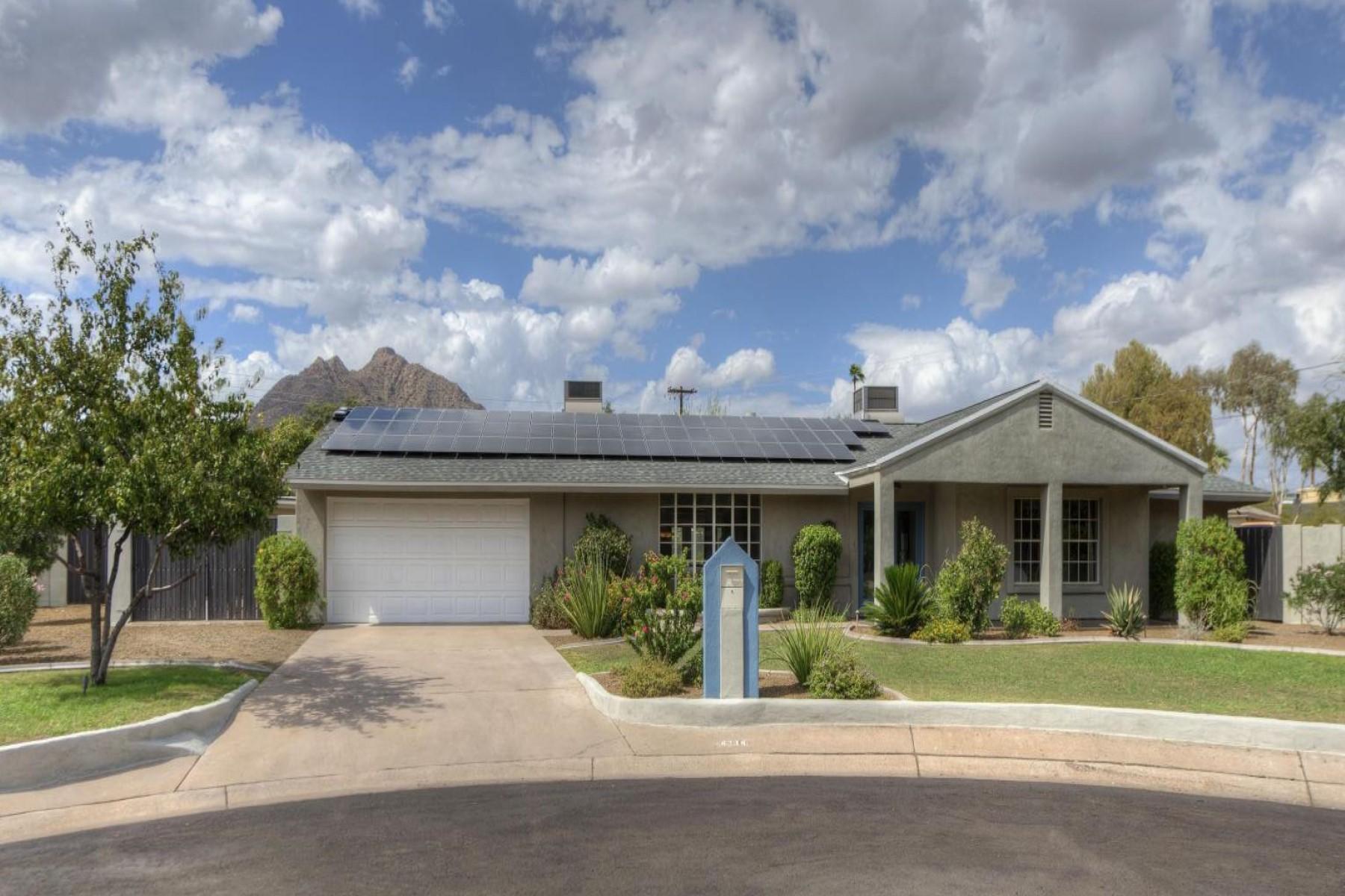 Casa Unifamiliar por un Venta en Premium 1/3 acre cul-de-sac lot with protected Camelback mountain views 4714 N 68th Place Scottsdale, Arizona 85251 Estados Unidos